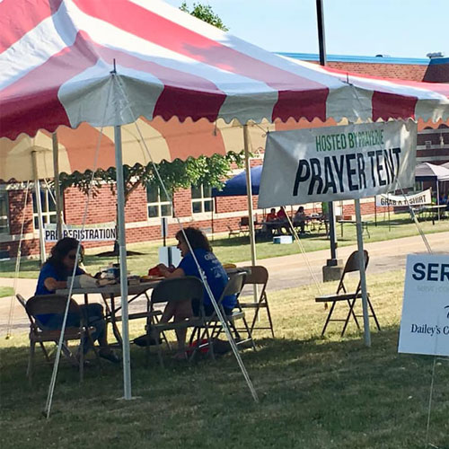 2019 Prayer Tent at ServErie