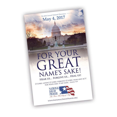 2017 National Day of Prayer Poster