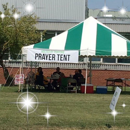 ServErie 2017 Prayer Tent by PrayErie