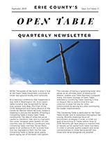 2018 September Newsletter for Open Table