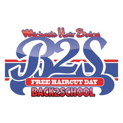 Back 2 School Haircut Logo