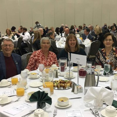 ECBLA 2019 Prayer Breakfast Table