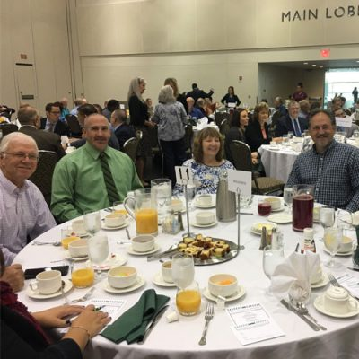 ECBLA 2019 Prayer Breakfast Table 11