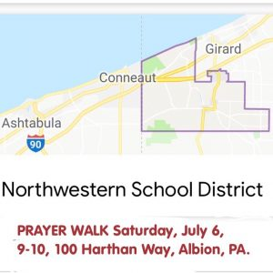 Northwestern Prayer Walk Image