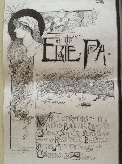 Invisible Erie Old Poster