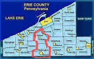Edinboro map
